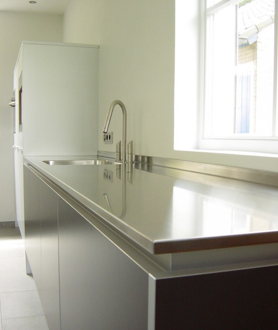 Rvs Keukenblad : Stainless Steel Work Top